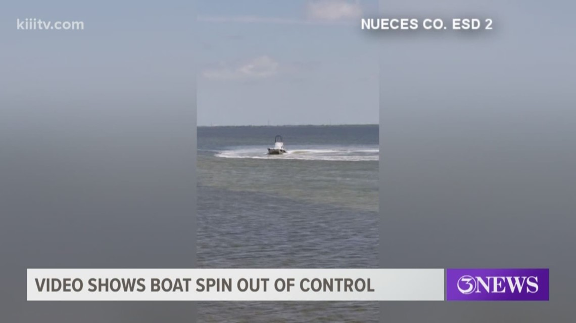 boaters flung from vessel after losing control in packery