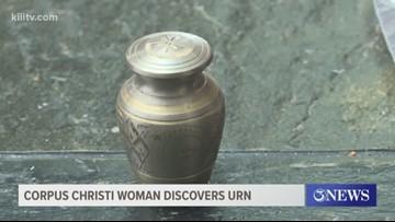 Corpus Christi woman discovers abandoned urn