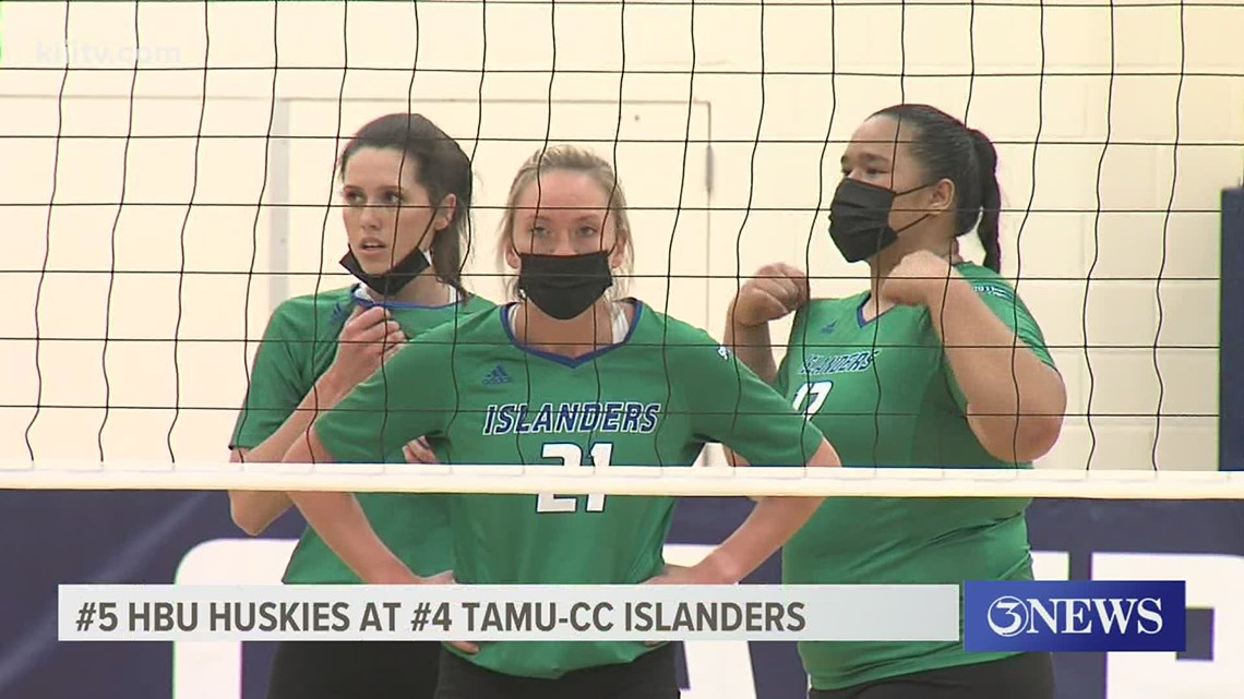 Islanders volleyball wins Southland quarterfinal over HBU - 3Sports