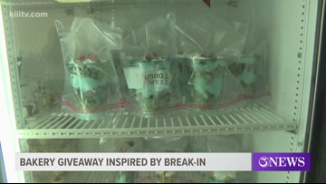 Low-carb bakery responds to burglary by giving out free cake cups