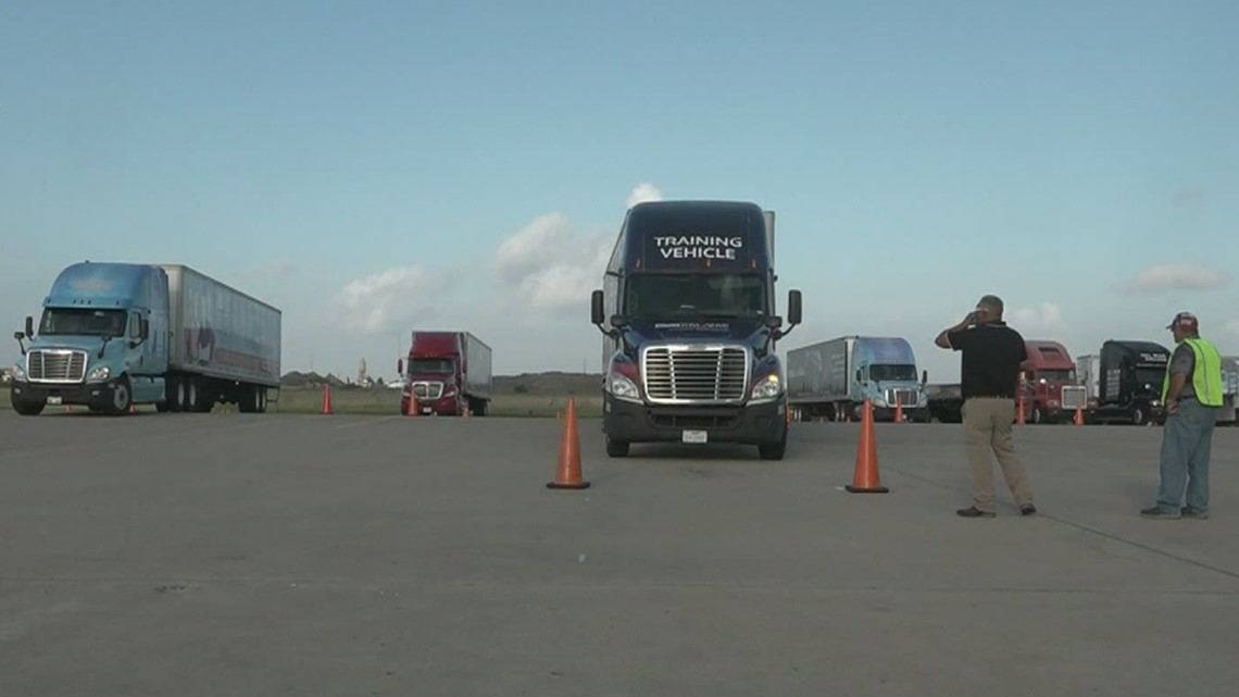 Trucking industry struggles to find workers in the Coastal Bend