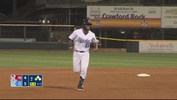 Hooks start home series with a walk-off win