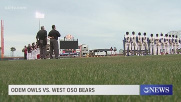 King settles for tie, Odem run-rules West Oso in baseball season opener - 3Sports