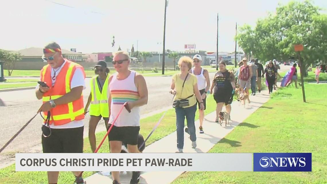 Pride Corpus Christi hosts Pet Paw-Parade