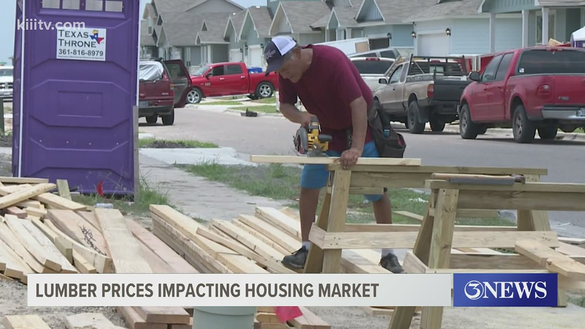 A closer look at how the lumber shortage is impacting the housing market