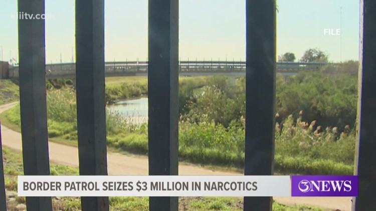Border Patrol agents at Rio Grande Valley seize $3 million in narcotics