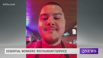 Essential Workers: Justin Hinojosa