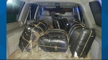 Laredo Sector Border Patrol confiscates several marijuana bundles