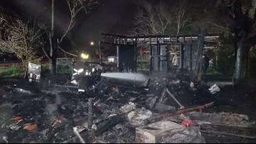 Elderly woman killed in San Diego house fire