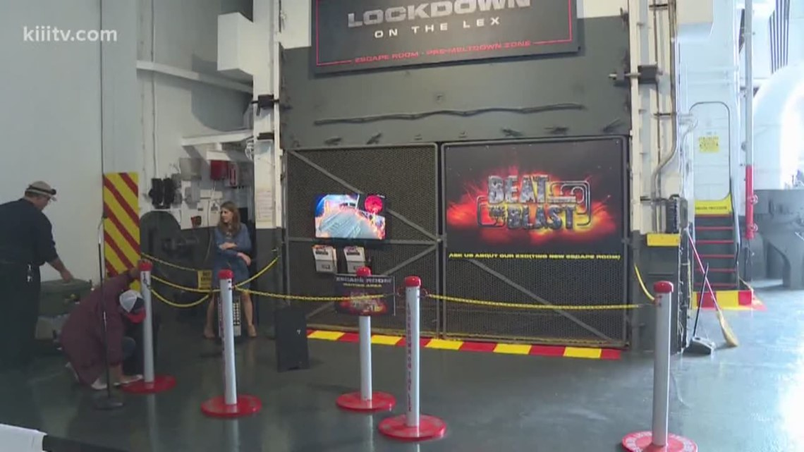 U.S.S. Lexington offers new escape room attraction, 'Lockdown on the Lex'