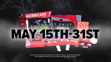 Register for a chance to win a 2020 KIII-TV 3News Hurricane Kit!