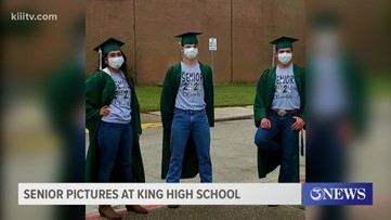 King High School senior pictures highlight the memories they could be missing out on due to COVID-19