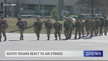 South Texans react to overseas airstrikes