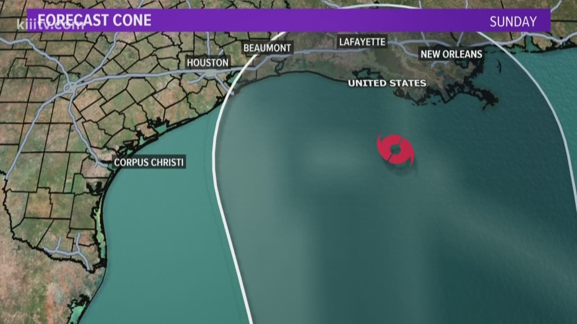 Tropical Storm Cristobal Forms