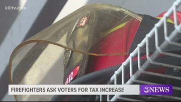 Nueces County firefighters hoping tax increase can help replace gear
