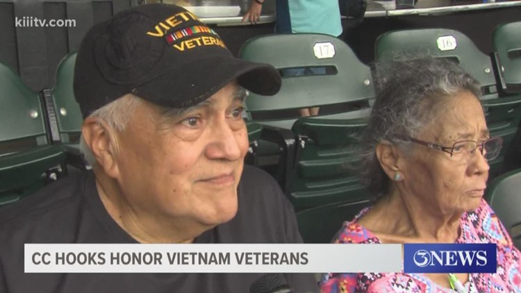 Military Matters: Corpus Christi Hooks honor Vietnam Veterans