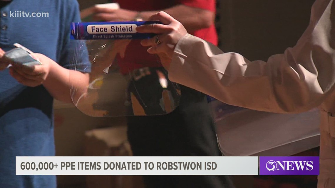 Robstown ISD receives over 600,000 pieces of PPE for students, staff