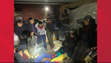 Border Patrol: 10 subjects apprehended from a stash house