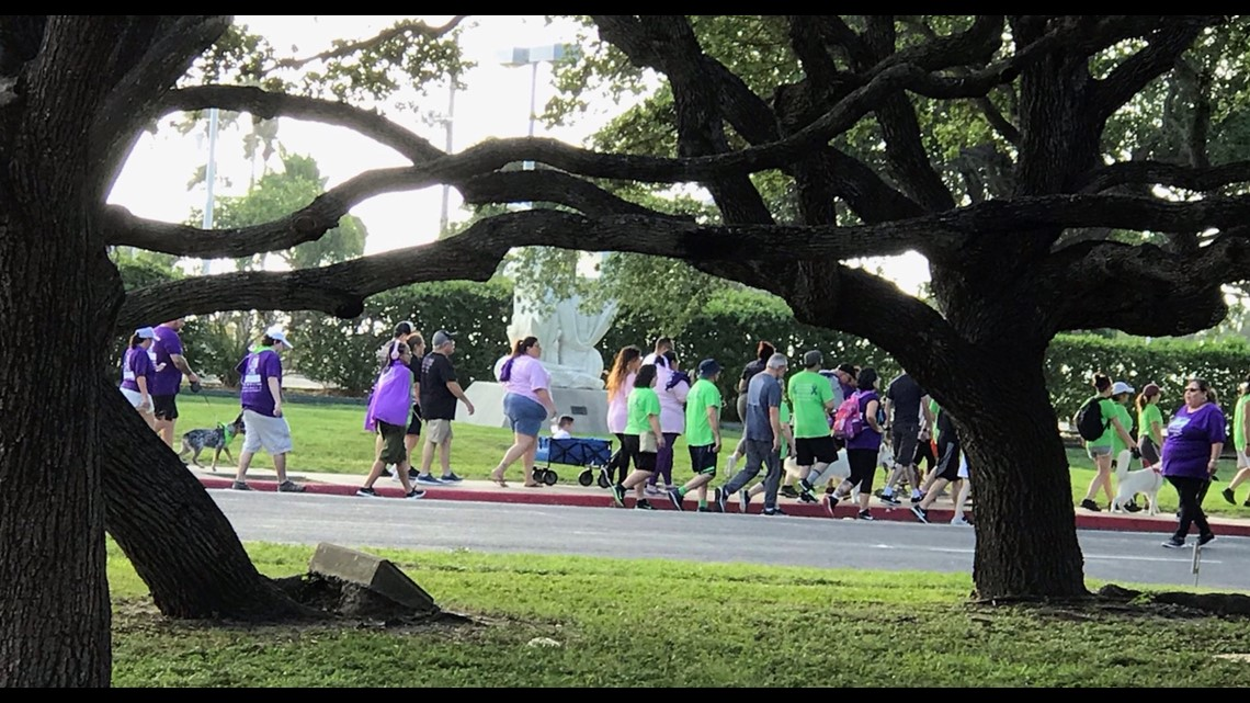 Walk to end Lupus held at Heritage Park