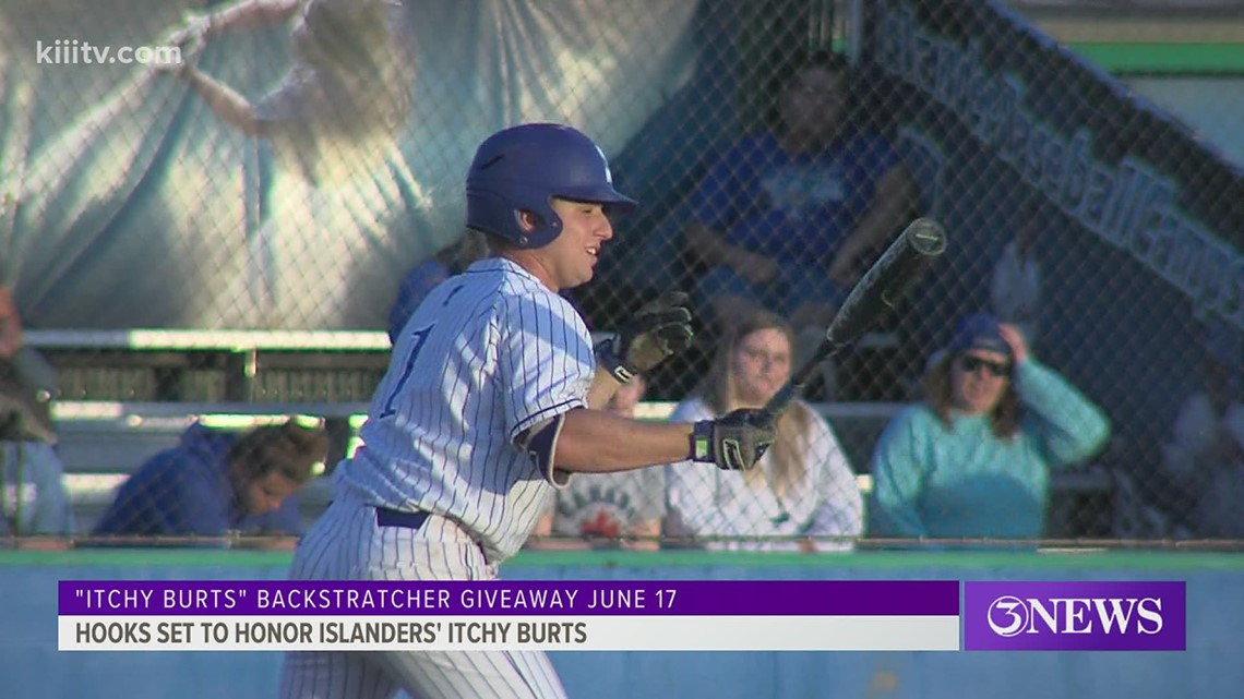 Hooks to honor Islanders' Itchy Burts