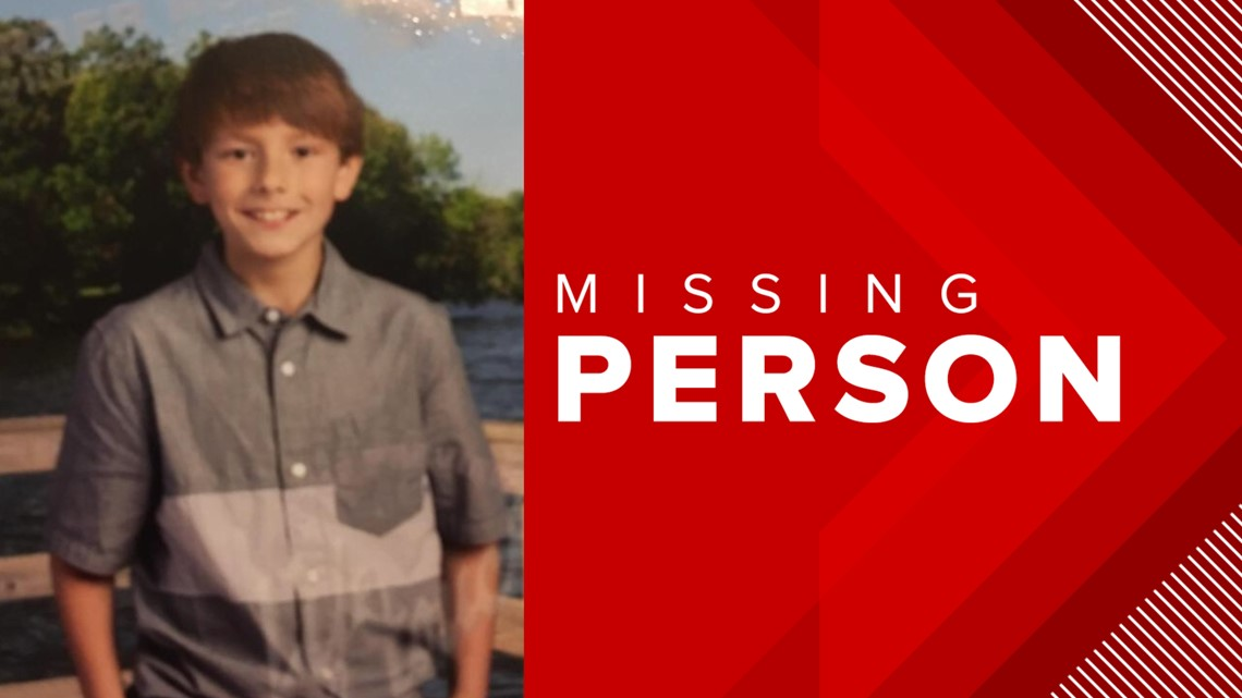 CCPD searching for missing nine-year-old boy