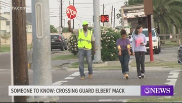 Someone to Know: Elbert Mack, retired Marine turned crossing guard