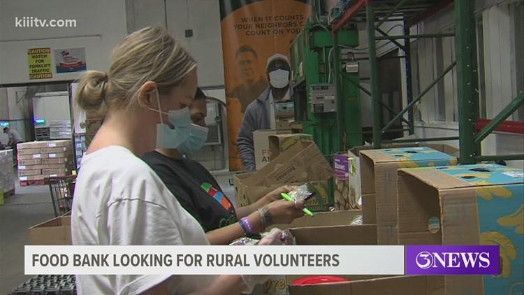 Coastal Bend Food Bank in need of volunteers, here's how to help