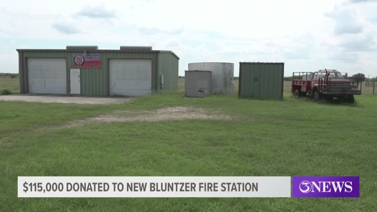 Wyatt Ranches donates $115,000 to build new fire station in Bluntzer, Texas