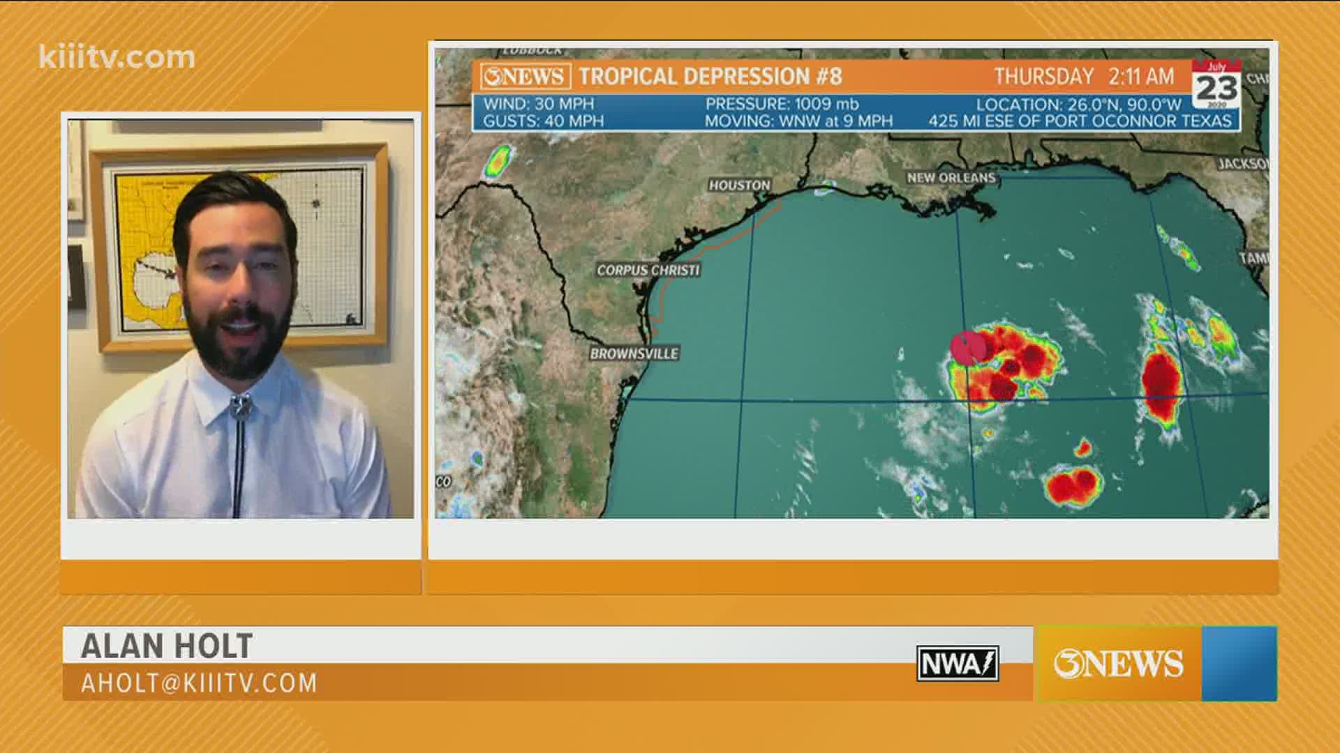 WEATHER BLOG: Tropical Depression #8 - Everything you need ...