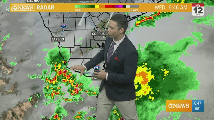 Ryan Shoptaugh KIII South Texas Weather Forecast 05-12-2021