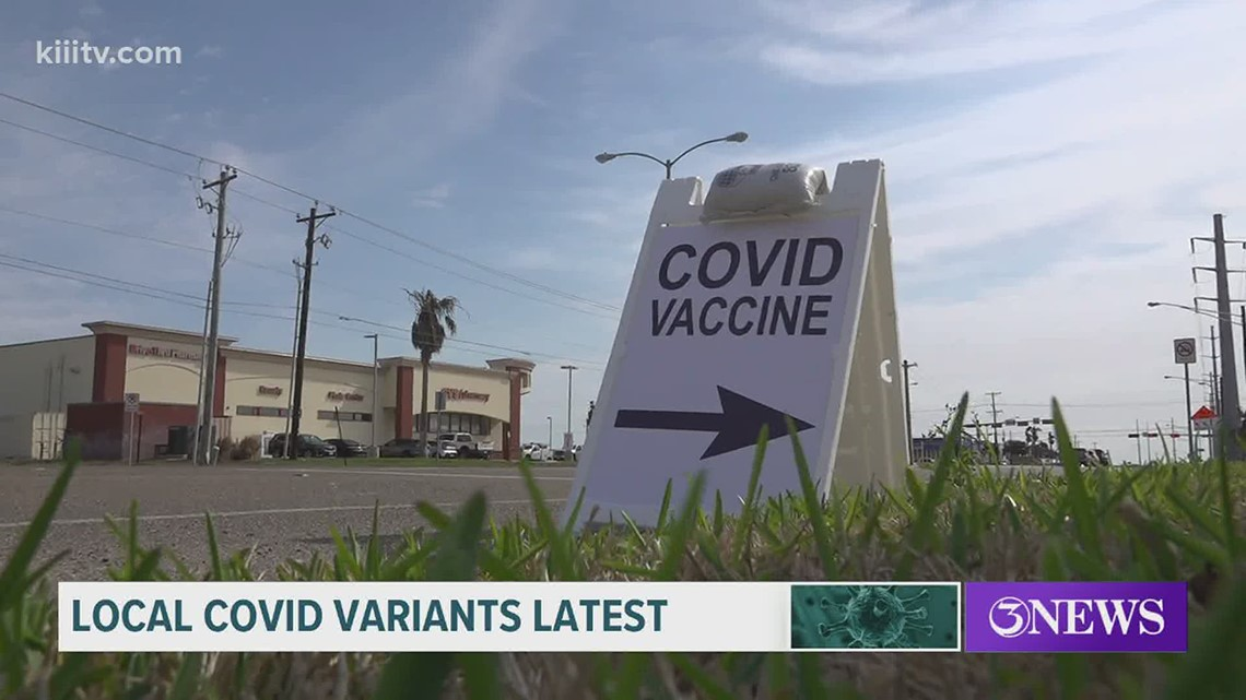 The latest on the recent COVID-19 variant found in Nueces County