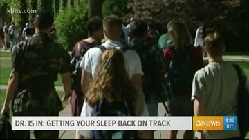 Dr. Is In: Getting students' sleep schedules back on track after summer break
