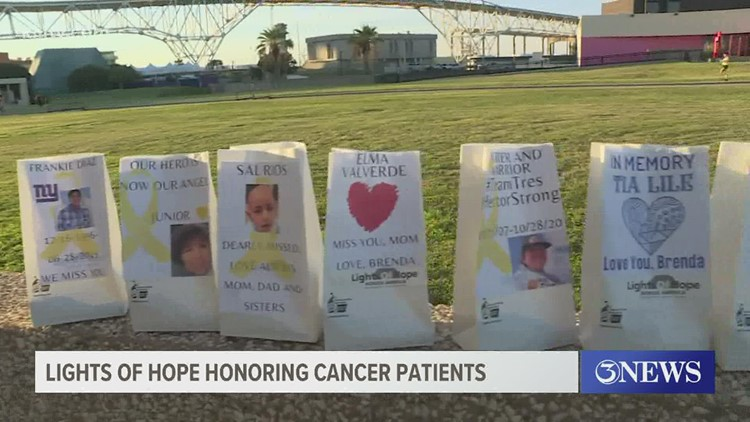 Lights of Hope ceremony held to honor cancer patients