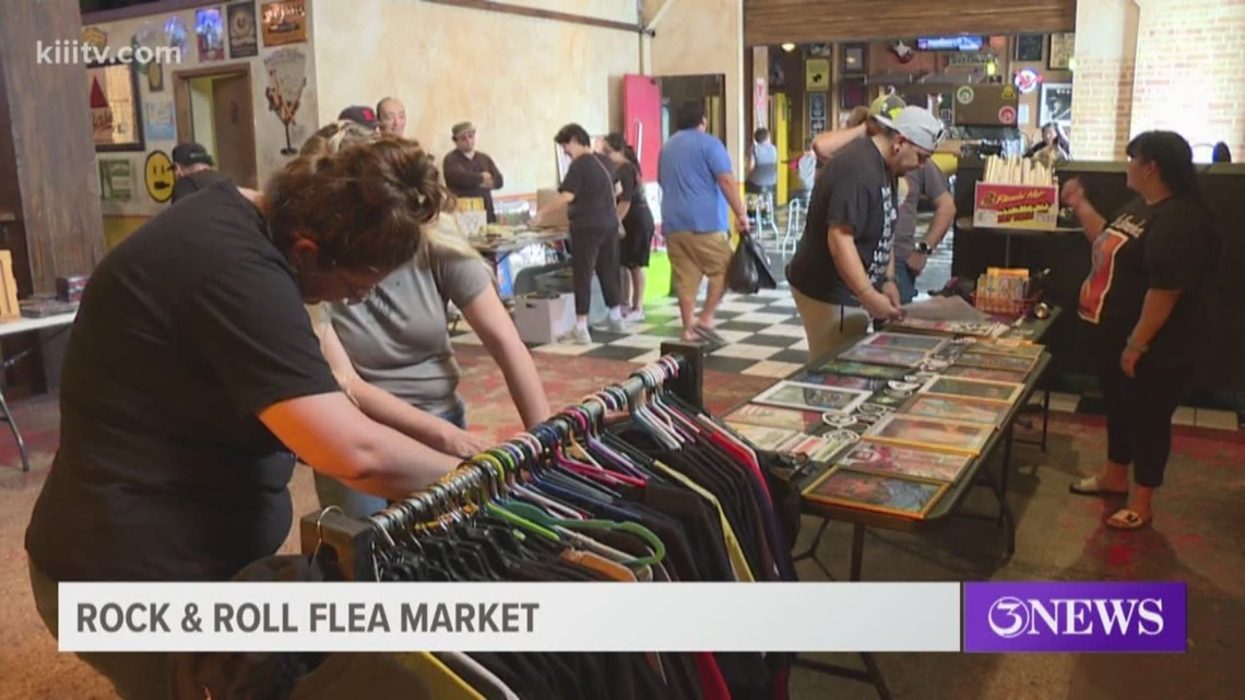 Rock-and-Roll lovers gathered at House of Rock for unconventional flea market