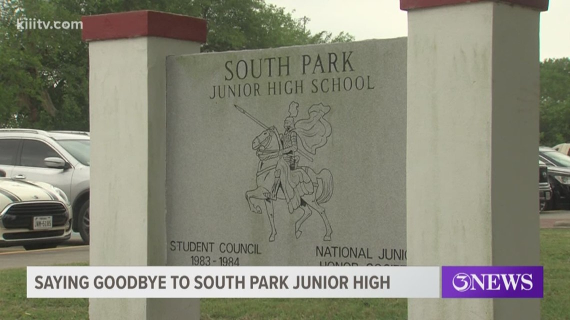 Saying goodbye to South Park Junior High