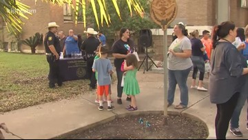 Candlelight vigil pays tribute to victims of child abuse