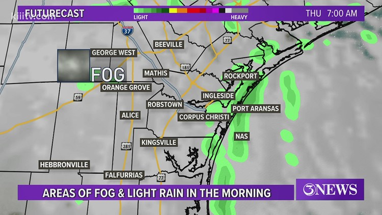 Bill Vessey's Forecast for South Texas - 3News at 5 - Wednesday, February 24, 2021