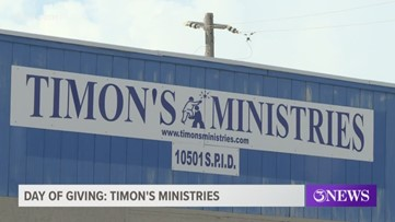 Coastal Bend Day of Giving: Timon's Ministries