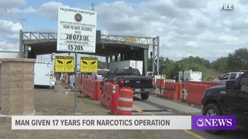 Texas man sentenced to 17 years for his role in narcotics operation