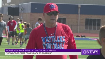 Todd Dodge Camp returns to Gregory-Portland - 3Sports