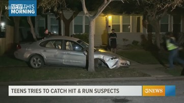 CCPD investigating hit-and-run crash that damaged multiple vehicles on Lansdown