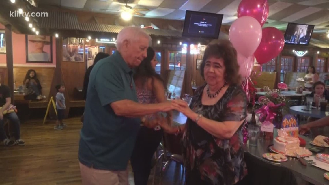 83-year-old Whataburger employee celebrates birthday with loved ones