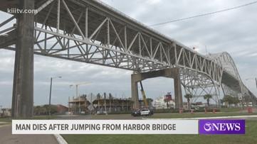 Man dead after jumping off Harbor Bridge