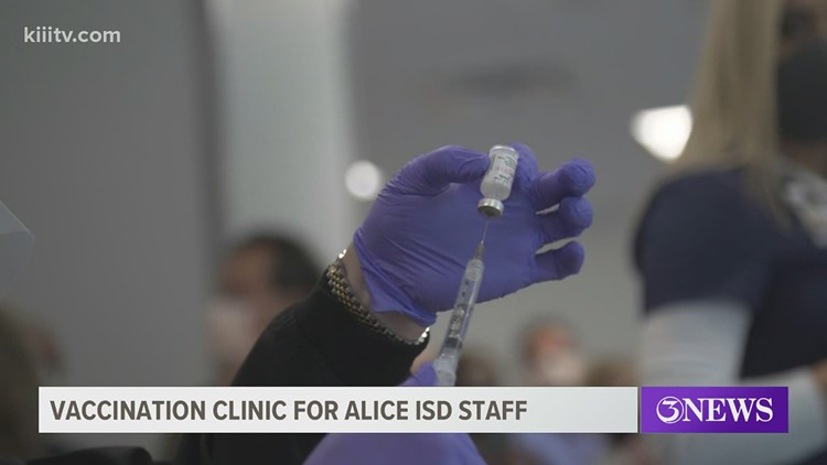 Alice ISD to vaccinate more teachers with help of neighboring cities