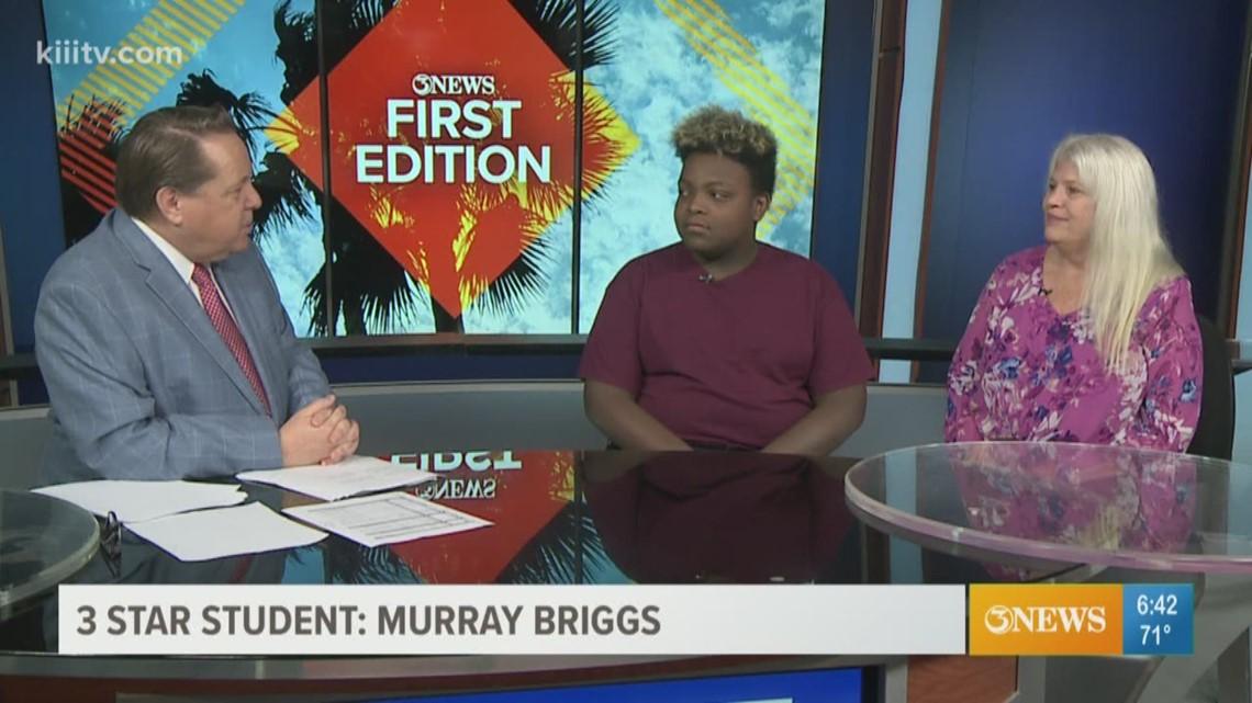 3Star Student: Murray Briggs of Hamlin Middle School