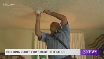 Fire marshals discuss building codes for smoke detectors