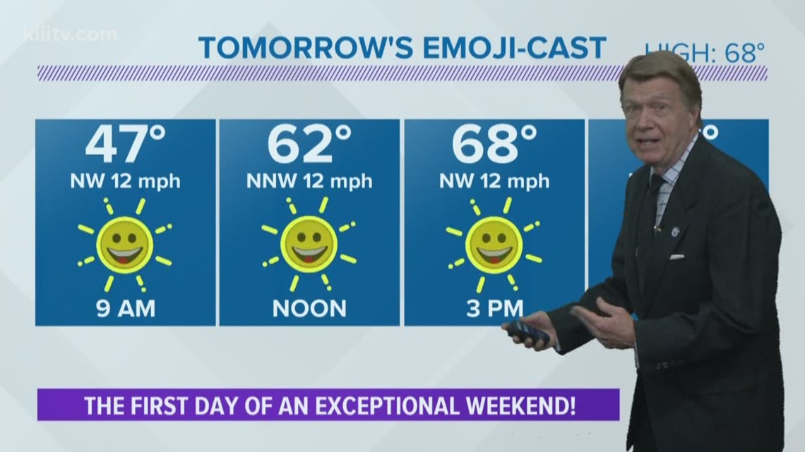 Saturday Forecast: Exceptional!