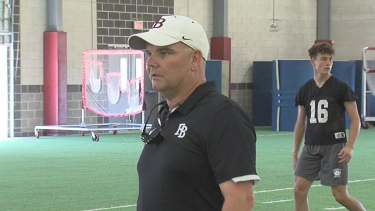 8-12-19 Flour Bluff Hornets football preview Chris Steinbruck