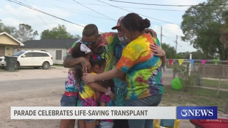 Anniversary parade celebrates life-saving bone marrow transplant for two siblings in Alice, TX