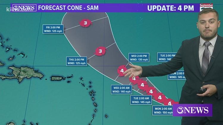 Joe DeCarlo Tropical Update 09-26-2021